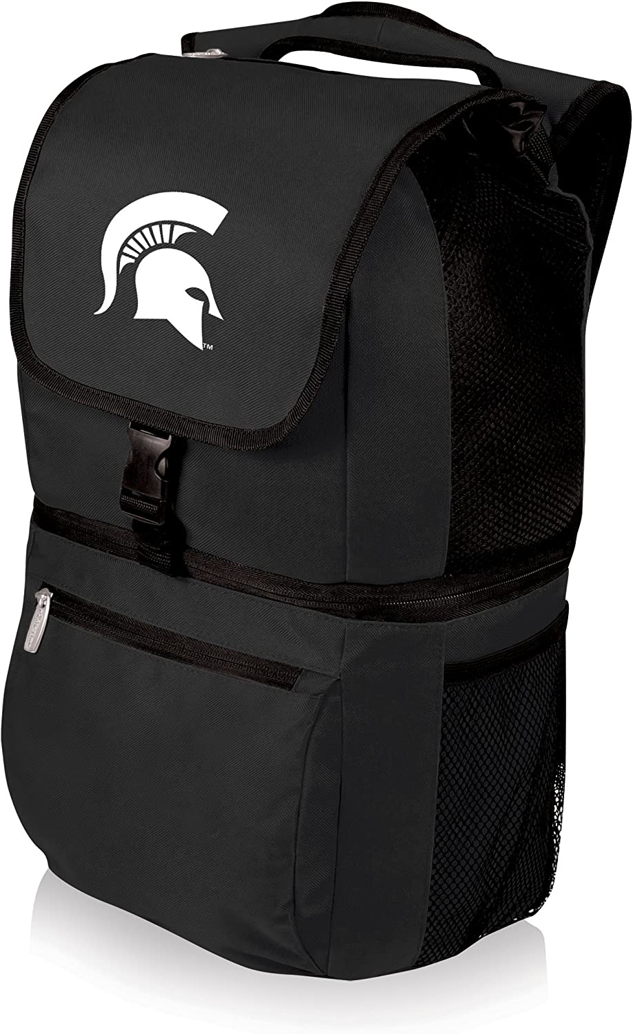 Black NCAA Michigan State Spartans Zuma Insulated Cooler Backpack