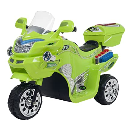 Battery Operated Ride On Toys >> Amazon Com Ride On Toy 3 Wheel Motorcycle Trike For Kids By Rockin