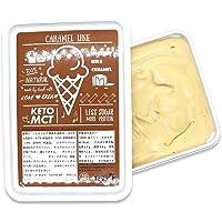 ISUPREME 低糖質 プレミアムアイス  リッチな香るキャラメルバター使用のキャラメルライン味 (1000ml)   カラダにうれしい、白砂糖不使用・人工甘味料不使用・100%自然素材