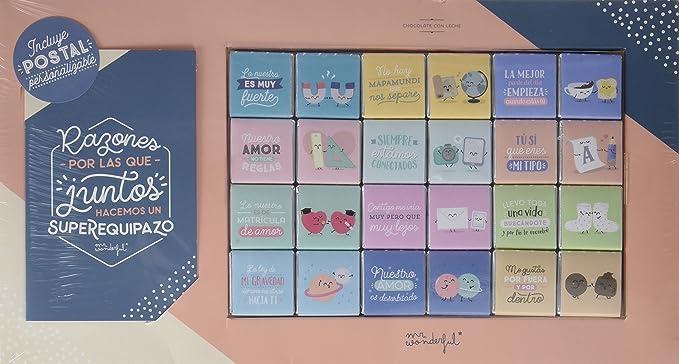 Chocolatinas Mr. Wonderful- Razones por las que juntos hacemos un ...