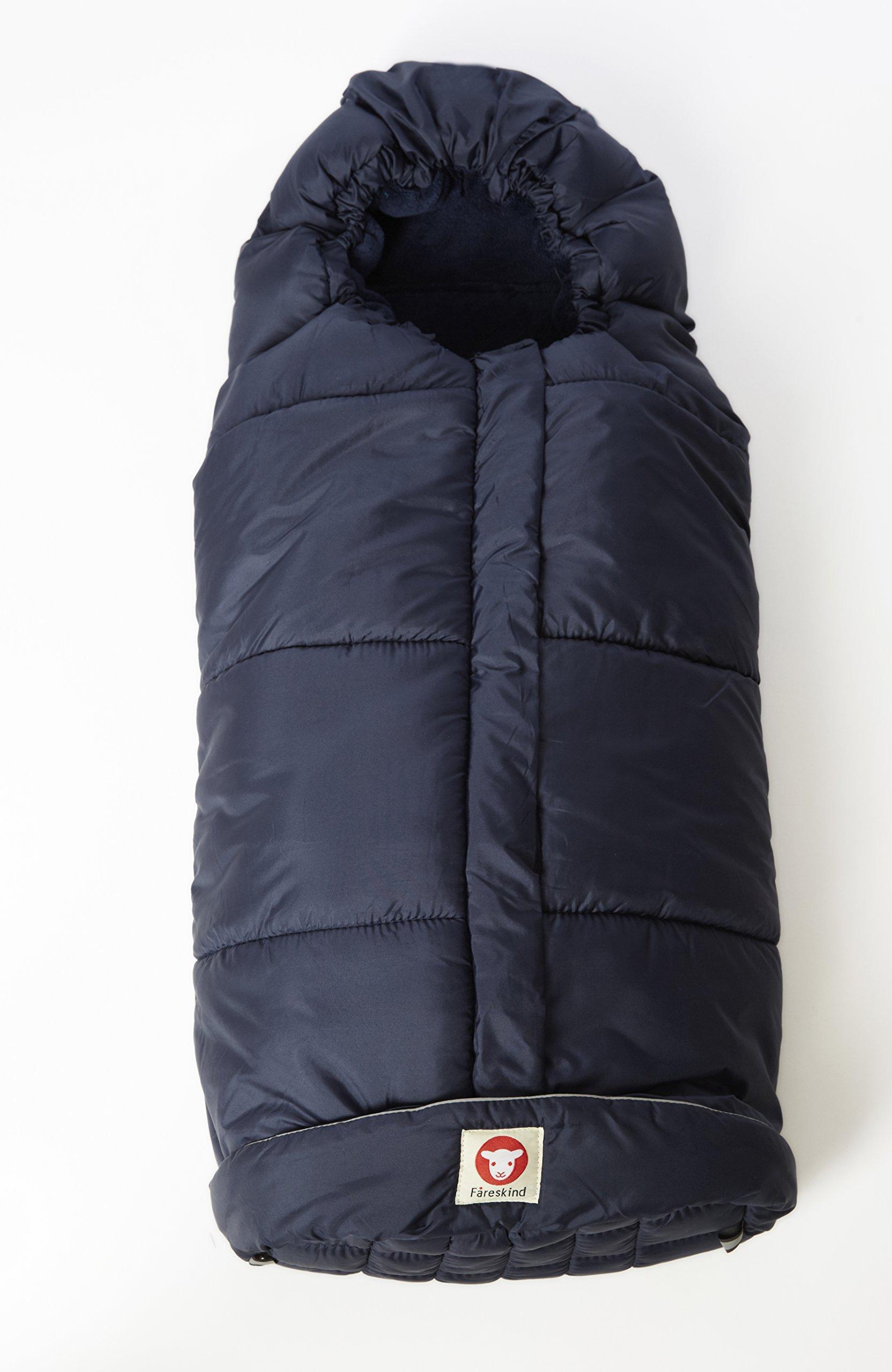 Fareskind Comfy Cruiser Bunting Bag, Blue, 0-4 Years