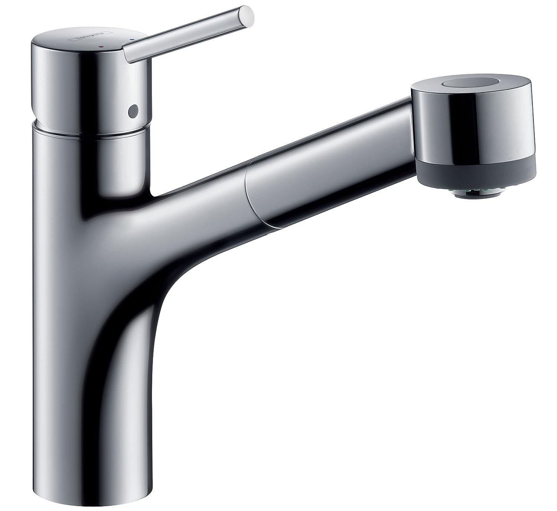 talis s single lever kitchen mixer tap with extending spout
