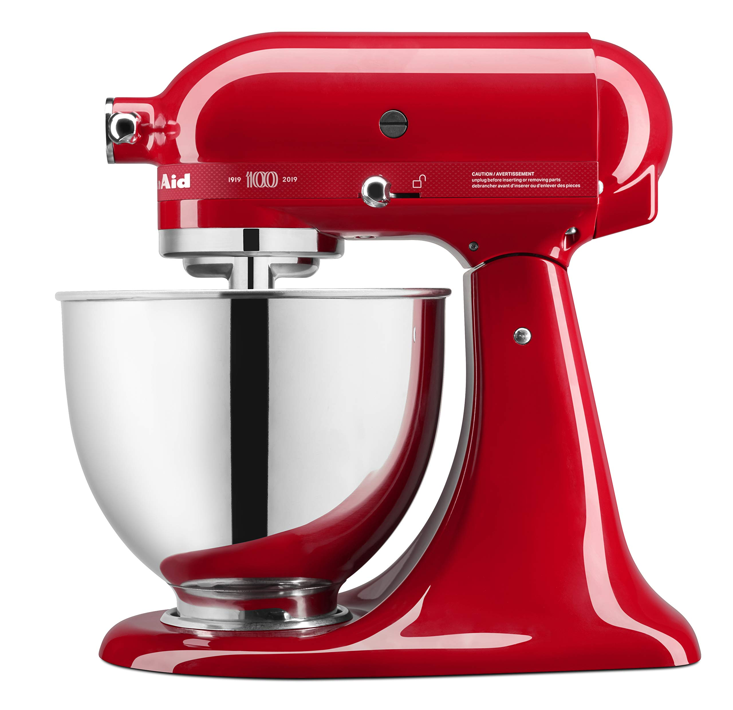 KitchenAid KSM180QHSD 100 Year Limited Edition Queen of Hearts Stand Mixer, Passion Red by KitchenAid (Image #2)