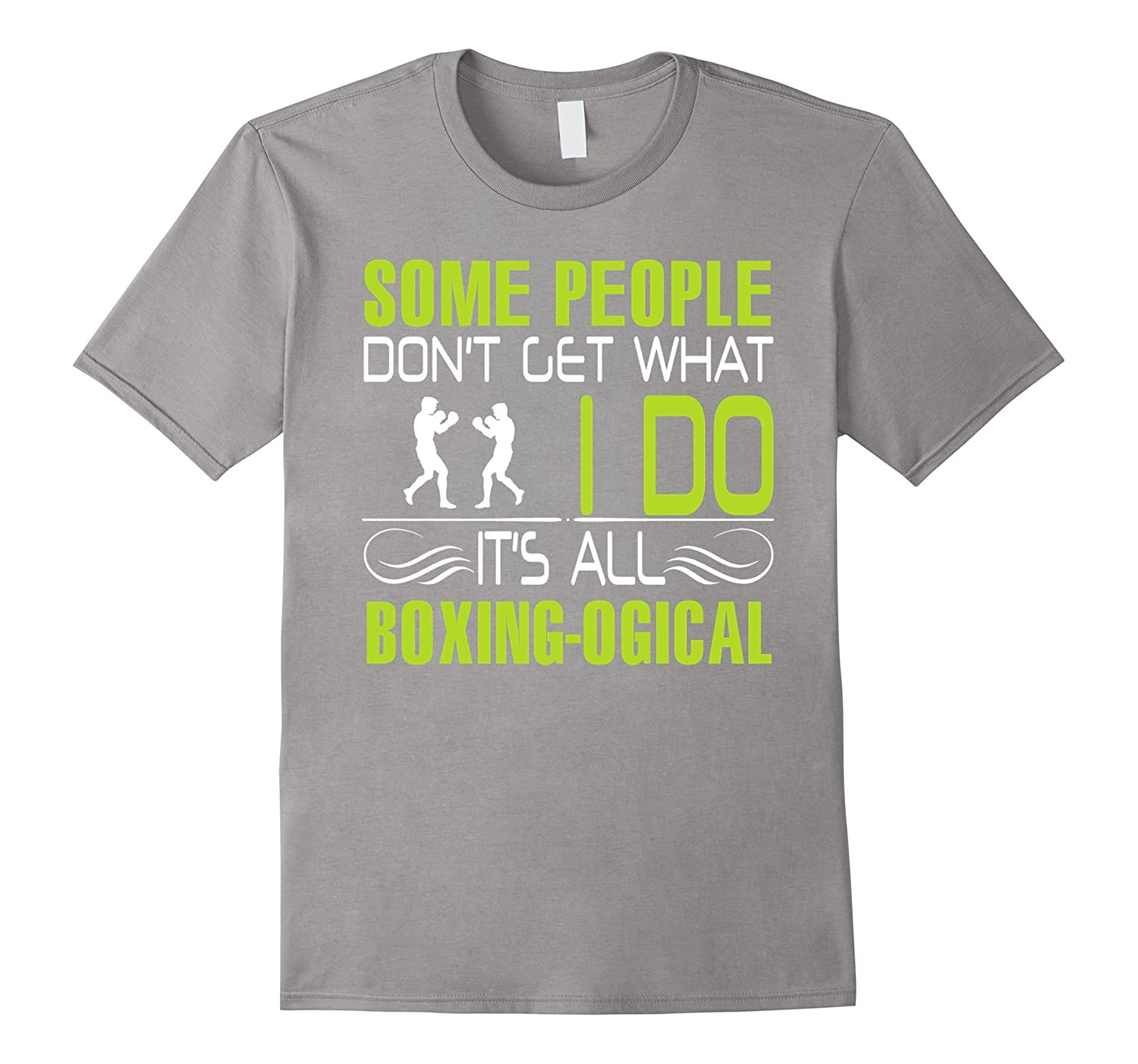 Boxing shirt - It is all boxing logic-CL