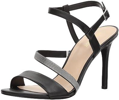 4d646a16644 Nine West Women s MYSID Leather Heeled Sandal
