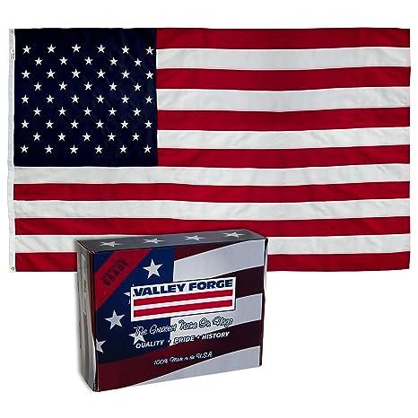 7178f338820 Amazon.com  Valley Forge Flag US4PN Uspn-1 American Flag