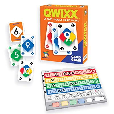 Qwixx Card Game - A Fast Family Card Game: Toys & Games