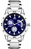 ADAMO Designer Analog Blue Dial Men's Watch - AD108-2
