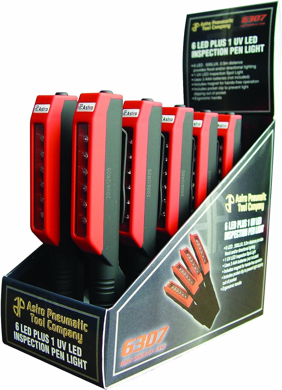 Astro 6307 6 LED Plus 1 UV LED Inspection Pen Light