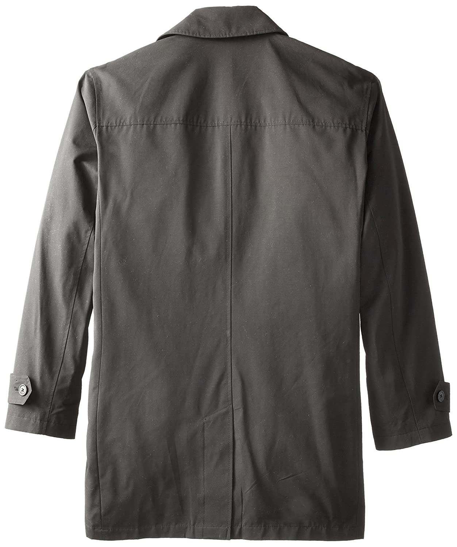 Stacy Adams Mens Cloud Fly Front 36 Inch Length Rain Top Coat
