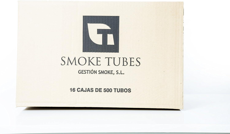 Caja de tubos de cigarrillos con filtro Smoke Tube para tabaco de liar 8.000 unidades 16X500: Amazon.es: Hogar