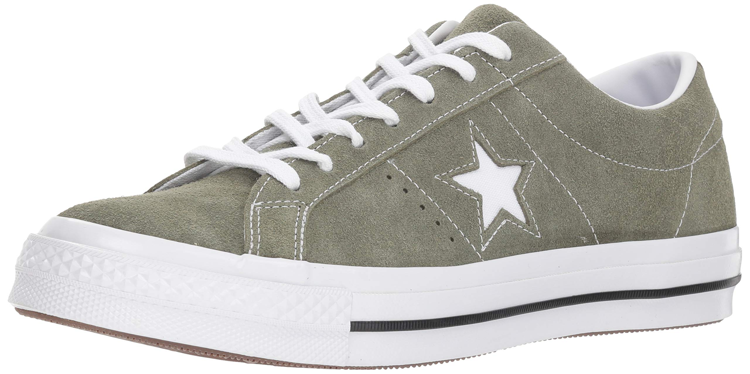 Converse Mens One Star Ox Suede Low Top Casual Shoes Green 11 Medium (D)