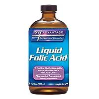 Liquid Folic Acid 800 MCG, 8 oz.