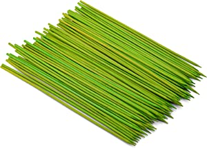 Farberware BBQ Colored Bamboo Skewers, 100 Count, 8-Inch, Lime