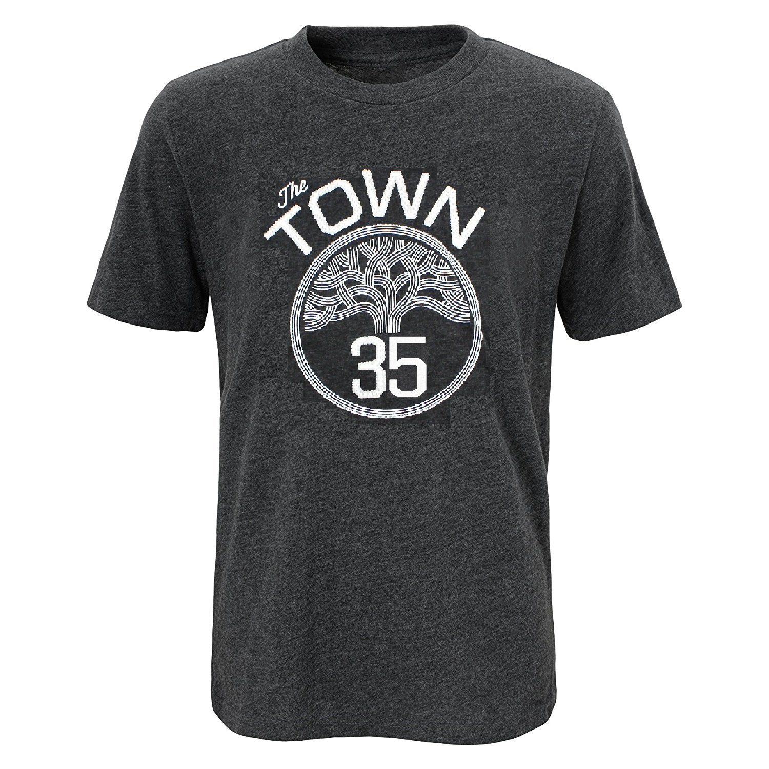 c116f735d Amazon.com   Outerstuff Kevin Durant Golden State Warriors  35 Youth The  Town Statement Player T-Shirt (Youth Medium 10 12)   Sports   Outdoors