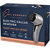 Electric Foot Callus Remover with Vacuum - Own Harmony Professional Pedicure Tools Kit for Powerful Pedi Feet Care Vac, Elect