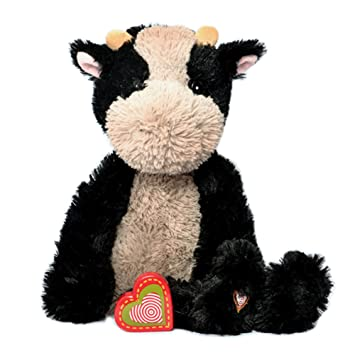 My Baby S Heartbeat Bear Vintage Stuffed Cow With A 20 Second Voice Sound Recorder