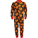 Manchester United FC Official Football Gift Boys Kids Pyjama Onesie
