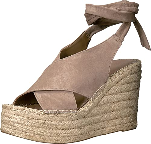 0a3df31376ba Marc Fisher LTD Women s Andira Cocco Kid Suede Wedge  Amazon.ca  Shoes    Handbags
