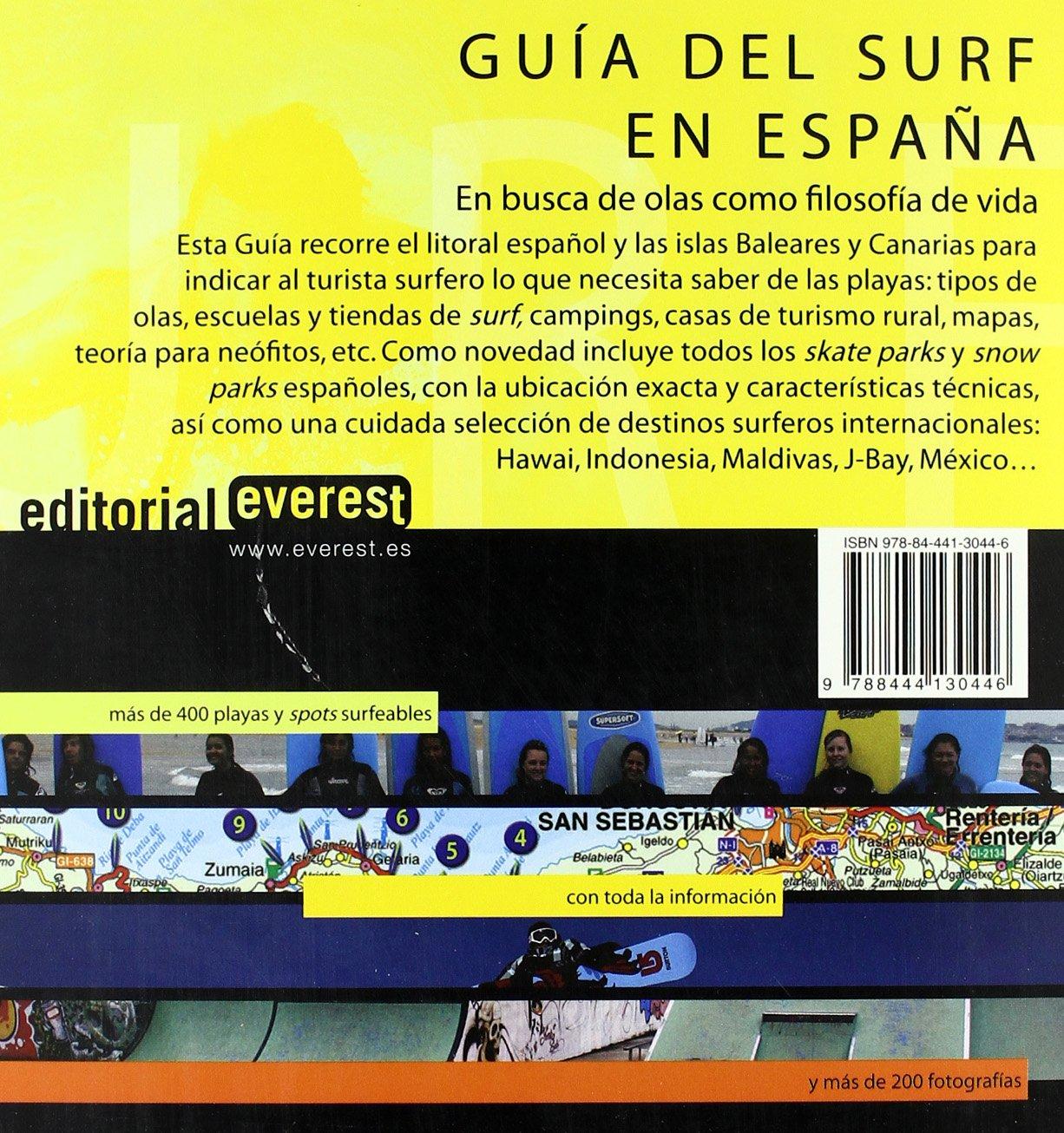 Guía del surf en España: Técnicas, playas surfeables, información turística y práctica y los mejores destinos internacionales: Amazon.es: Pellón José: ...