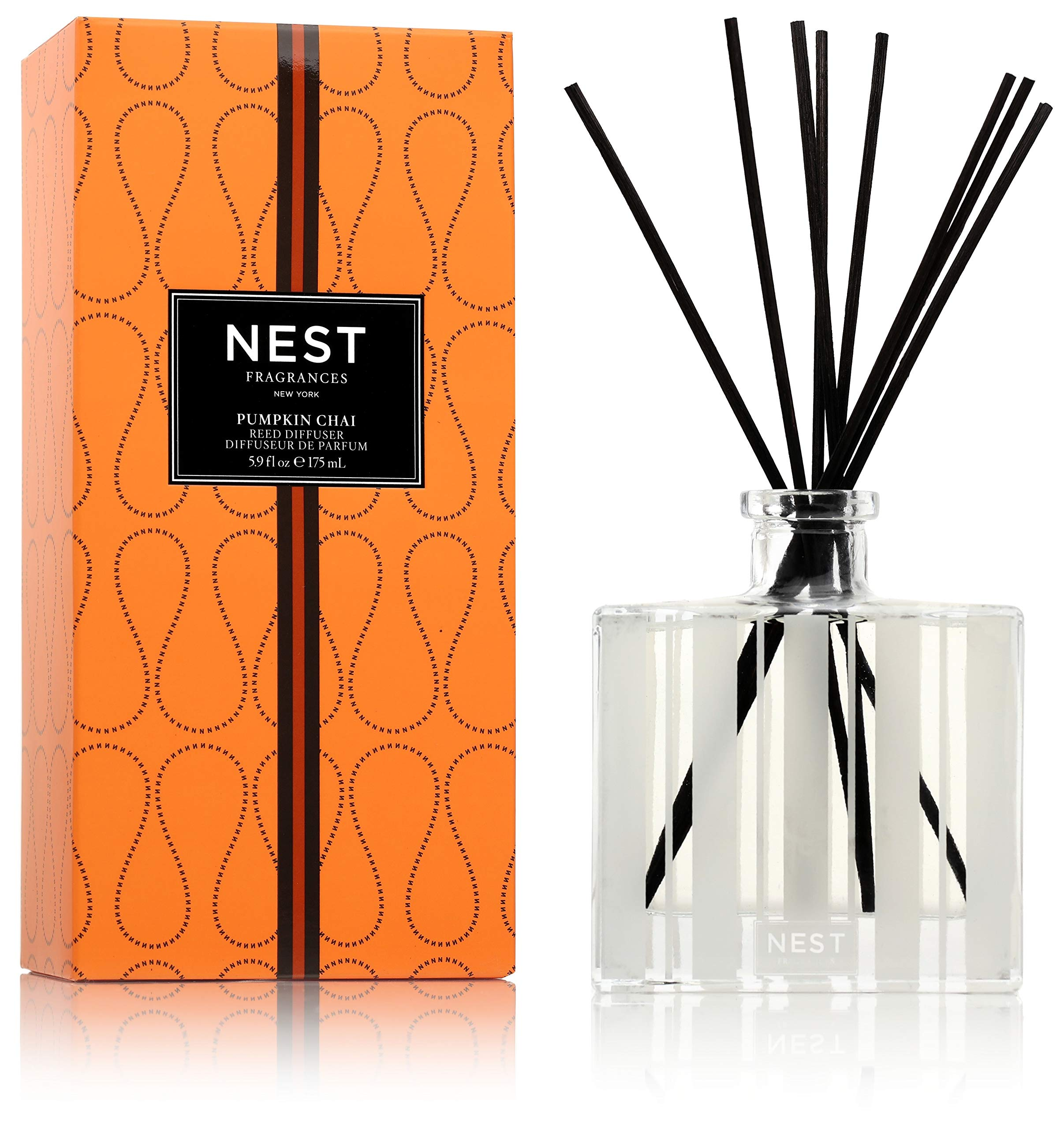 NEST Fragrances Reed Diffuser- Pumpkin Chai, 5.9 fl oz
