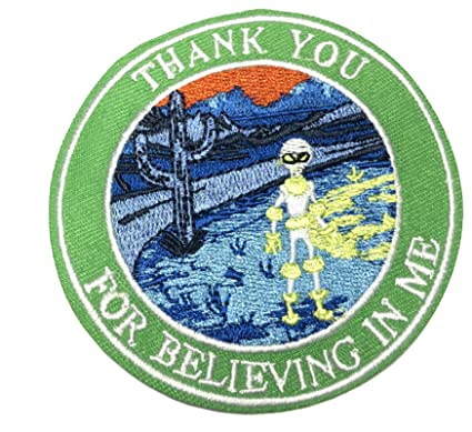 Amazon com: Alien Thank You for Believing in Me 3 25