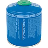 Campingaz CV 300/470 Plus Screw On Gas Cartridge, for Camping Stoves, Compact and Resealable Canister