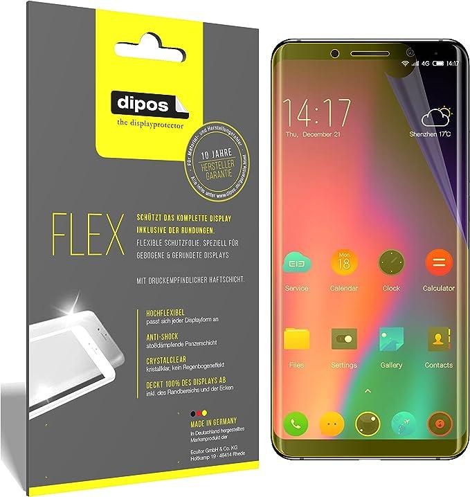 dipos I 3X Protector de Pantalla Compatible con Elephone U Pro ...