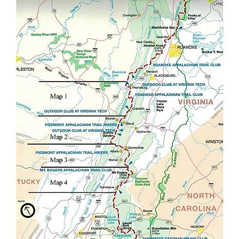 Official Southwest Virginia Appalachian Trail Maps