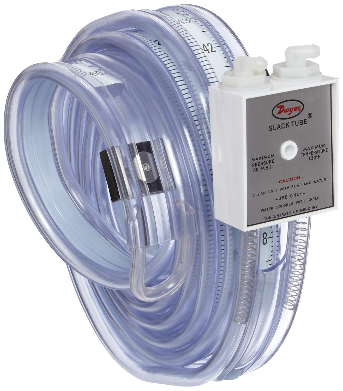 Dwyer Slack Tube Series 1211 Handy Roll-Up Manometer Pressure Range 8-0-8WC
