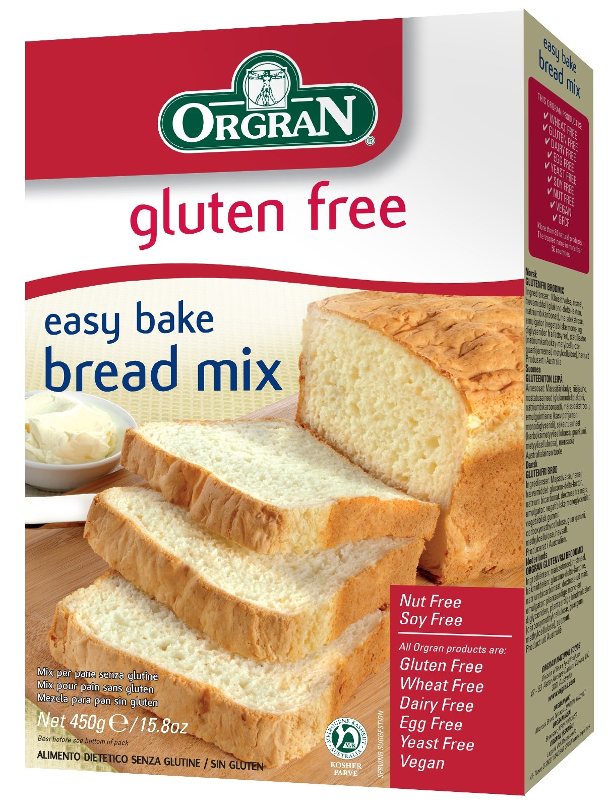 Orgran self raising flour 500g grocery for Atkins cuisine all purpose baking mix where to buy