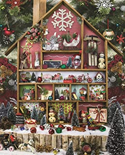 product image for Springbok 1000 Piece Jigsaw Puzzle Christmas Country Home