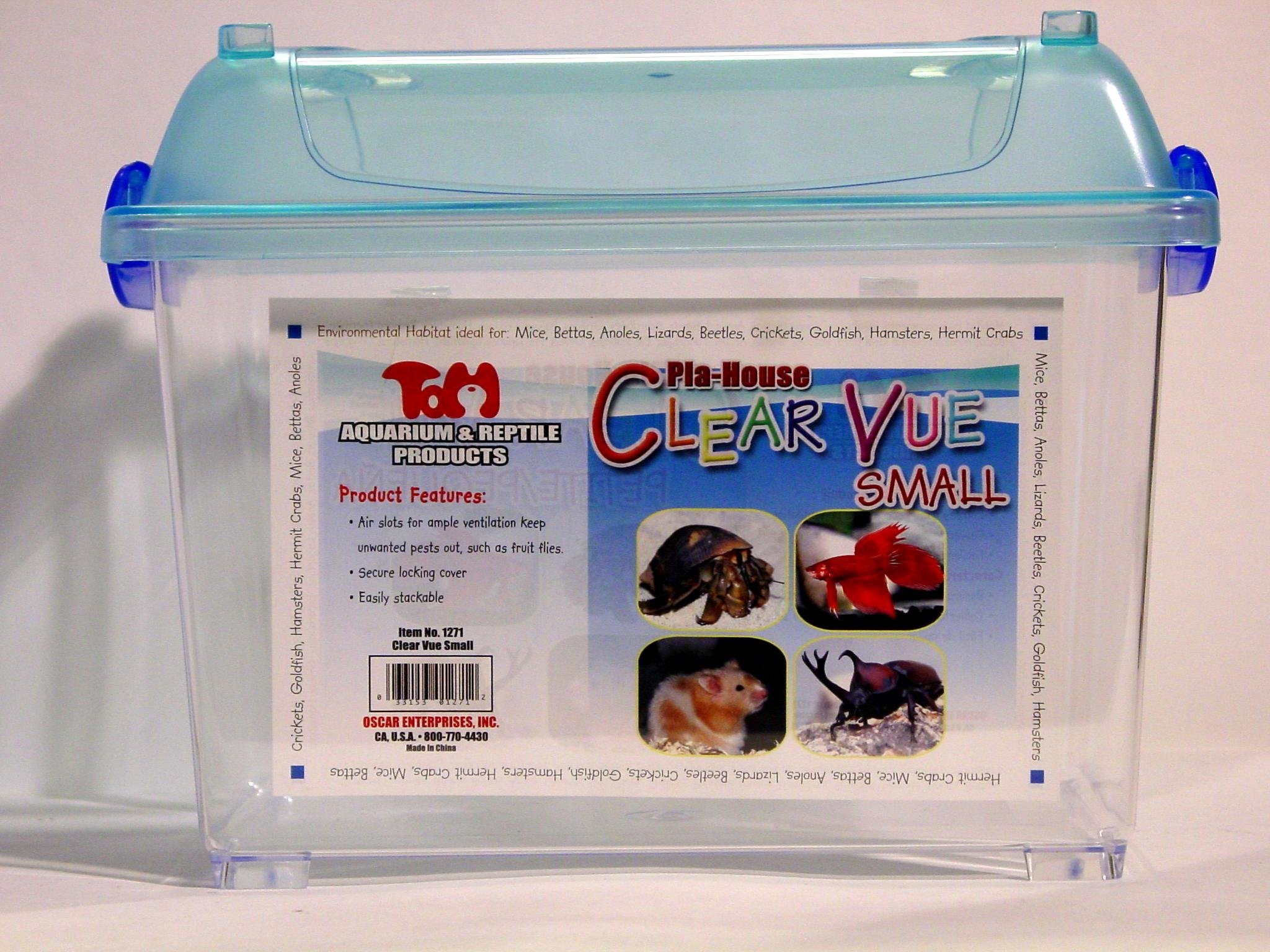 Koller Products Clear Vue Small Animal Habitat, Size Small by KollerCraft (Image #1)