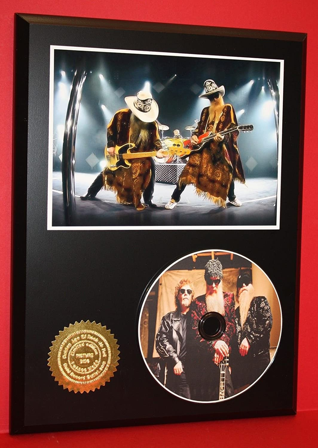 ZZ Top Limited Edition Picture Cd Disc Rare Collectible Music Display