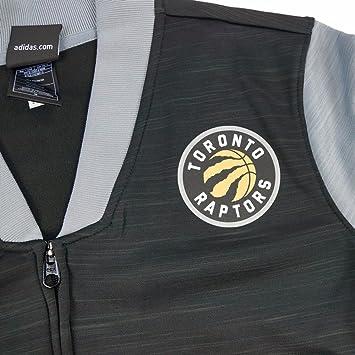 adidas Toronto Raptors NBA Negro Pista Chaqueta de Cremallera ...