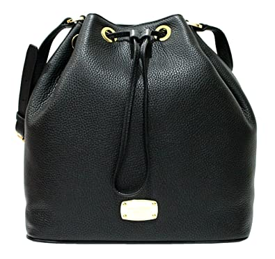 ddba5a0c4f43 Image Unavailable. Image not available for. Color: MICHAEL Michael Kors  Large Jules Drawstring Shoulder Bag black handbag