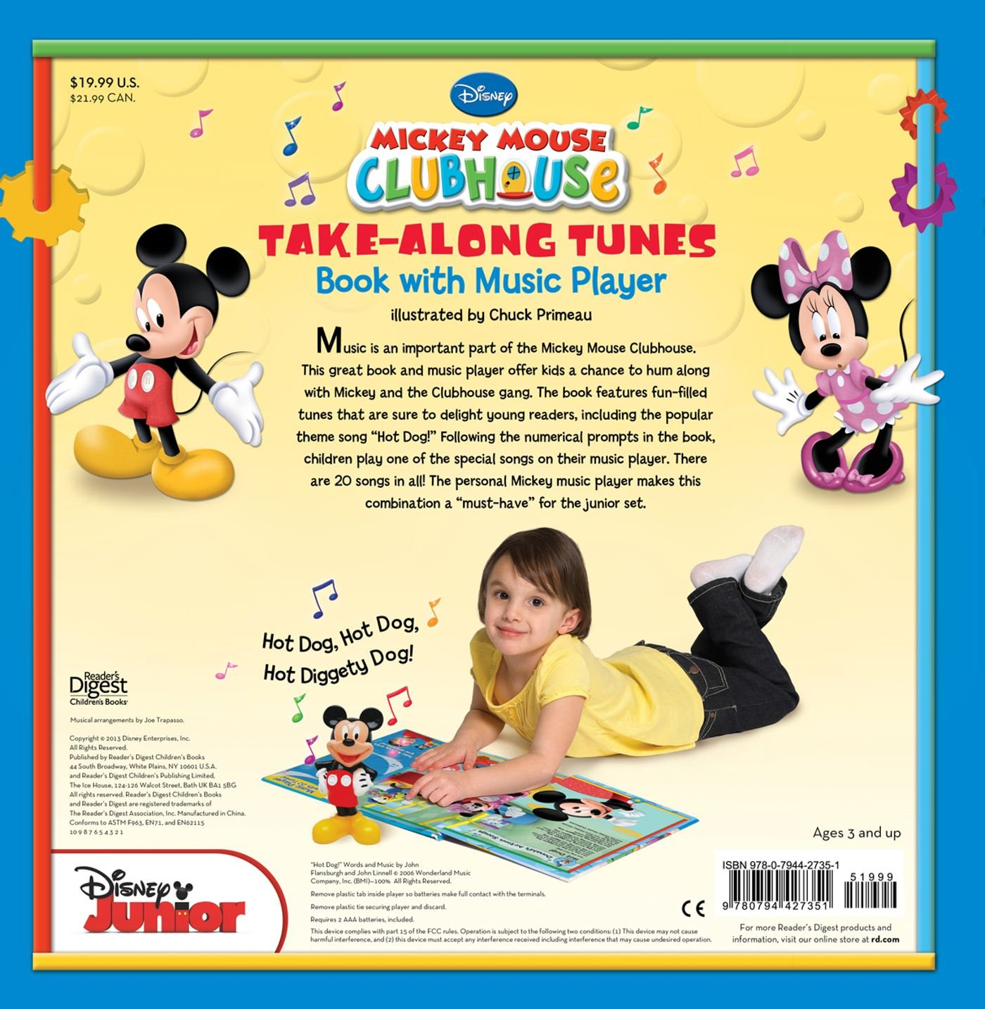 Mickey Mouse Clubhouse Take-Along Tunes [With Mickey Mouse