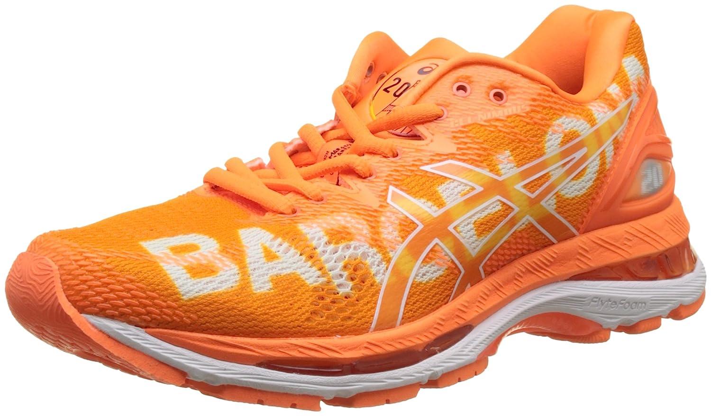 Asics Gel-Nimbus 20 Barcelona Marathon, Zapatillas de Running Para Mujer 37 EU|Naranja (Shocking Orange/Shocking Orange/White 3030)