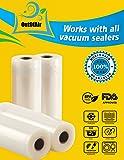 "8"" & 11"" 25ft Vacuum Sealer Rolls (Fit Inside) 4"