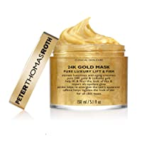 24K Gold Mask Pure Luxury Lift & Firm, Anti-Aging Gold Face Mask, Helps Lift, Firm...