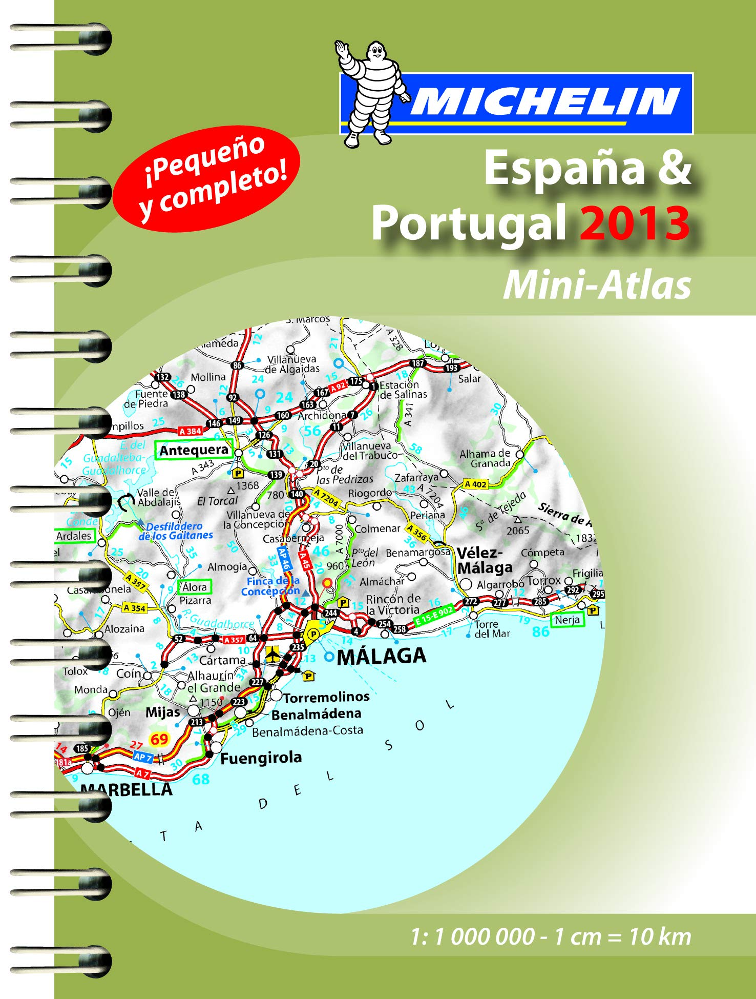 Mini Atlas España & Portugal 2013 Atlas de carreteras Michelin: Amazon.es: Michelin: Libros
