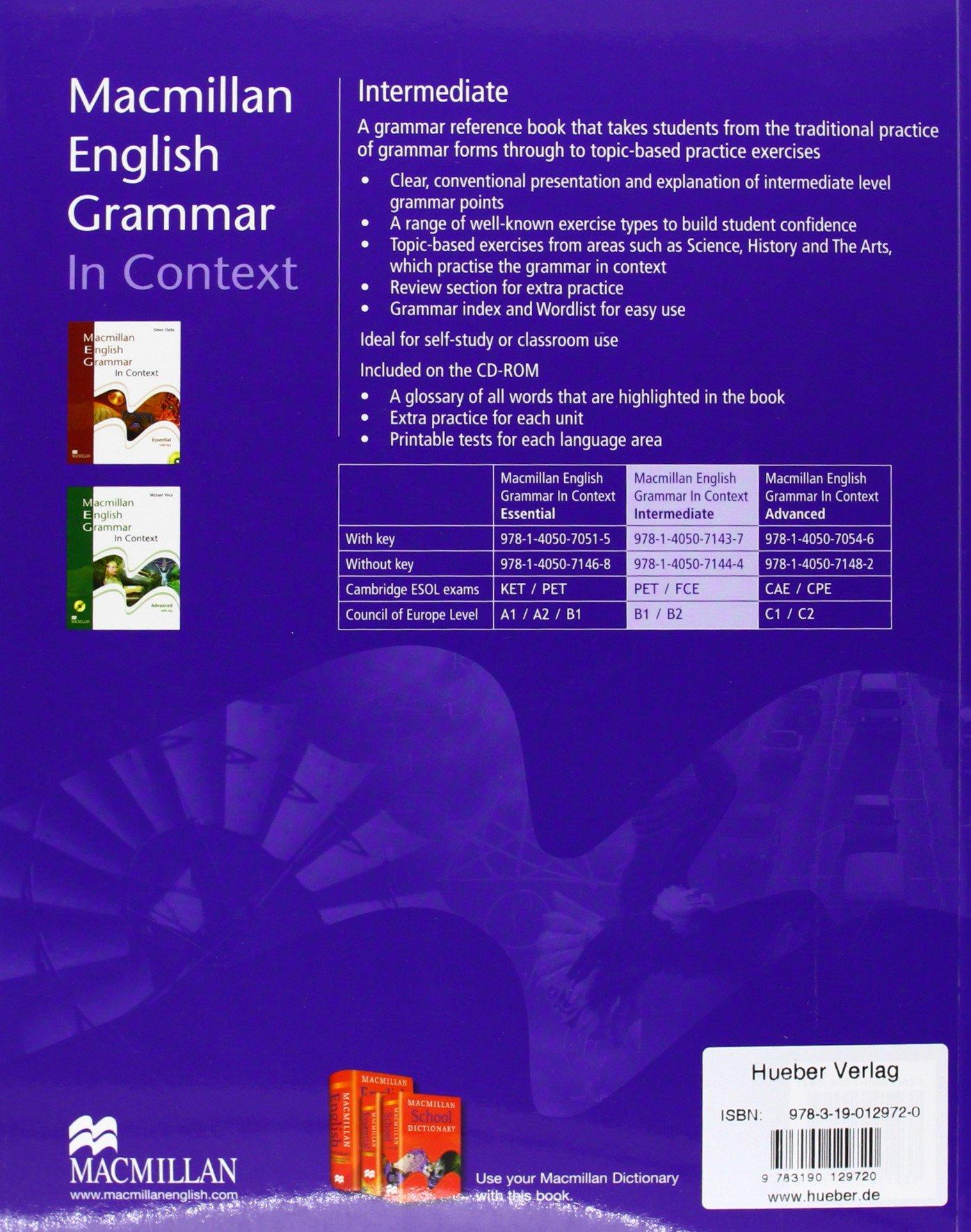 Grammar context english intermediate in pdf macmillan