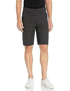 Dickies Mens Regular Fit 11 Plaid Work Short