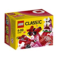 LEGO Classic Red Creativity Bricks Box 10707 Playset Toy