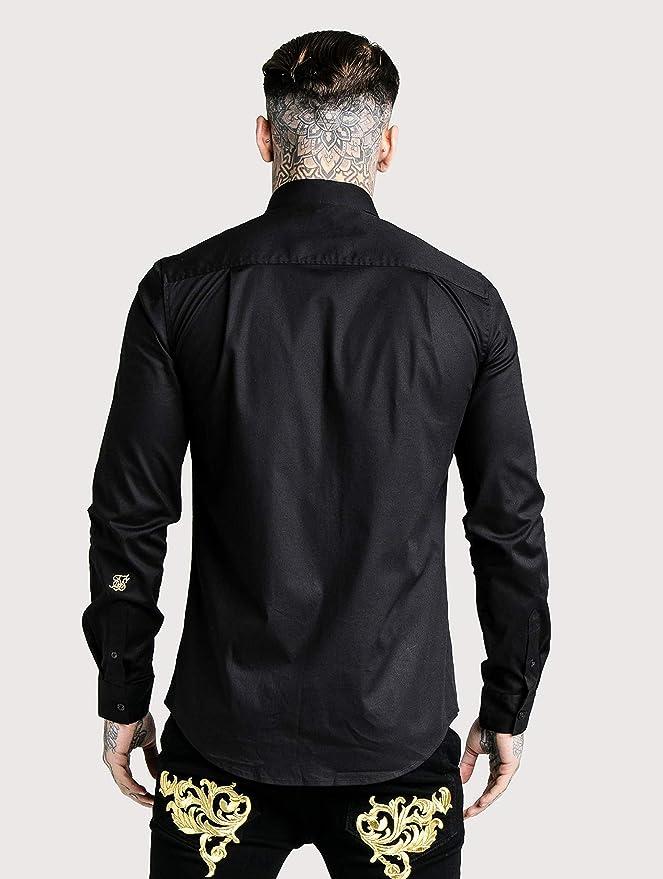 Sik Silk Hombres Camisas Muscle Fit: Amazon.es: Ropa y accesorios