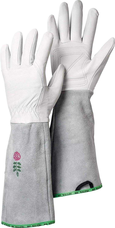 Hestra Garden Rose Reinforced Women's Long Gauntlet Gardening Gloves | Pruning, Trimming and Gardening