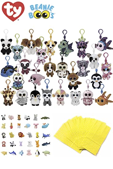 Amazon.com: Animales de peluche Beanie Boos Bundle Set de ...