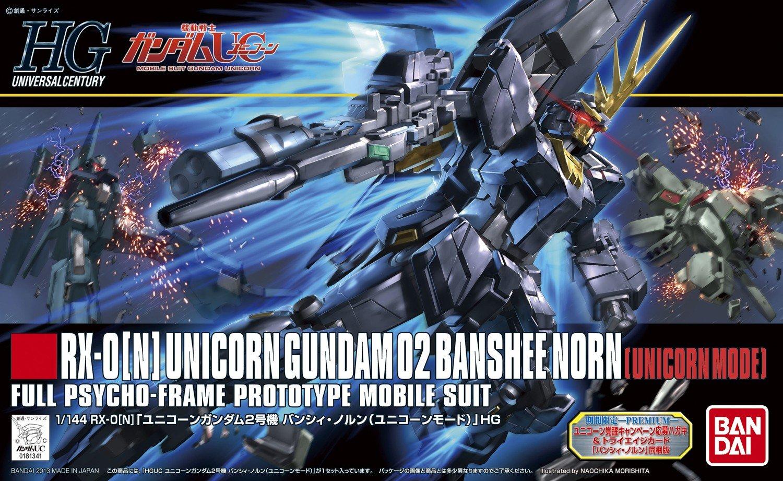Bandai Hobby Banshee Norn Unicorn Mode High Grade Universal Century Figure Model Kit