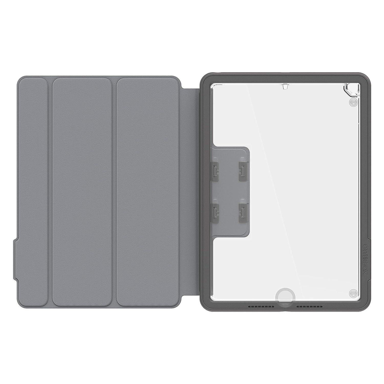 OtterBox Unlimited Folio - Funda de protección con Tapa para Apple New iPad 5/6th Gen, Color Gris