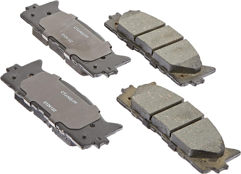 Disc Brake Pad Set-Service Grade Ceramic Disc Brake Pad Front Raybestos SGD1222C